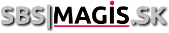 SBS|MAGIS.SK Logo